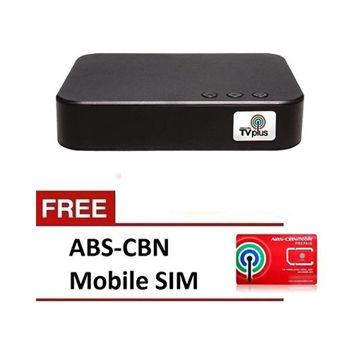 Abs Cbn Tv Plus Dttv Blackbox With Free Abs Cbn Mobile Sim Savers