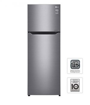 LG GR-B202SQBB Top Mount Inverter 7.2 cu.ft Refrigerator