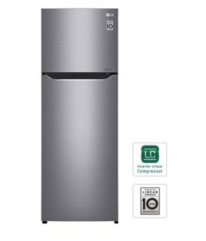 LG GR-C272SLCN Two Door Refrigerator 9.6cu.ft