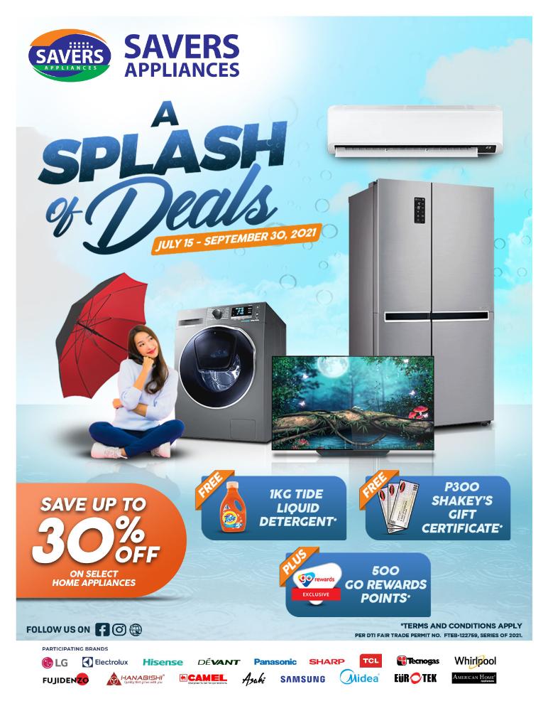 A Splash of Deals